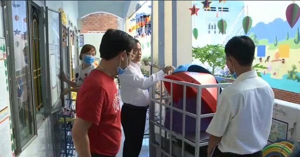 Thị xã Dĩ An hoàn thành vệ sinh trường học