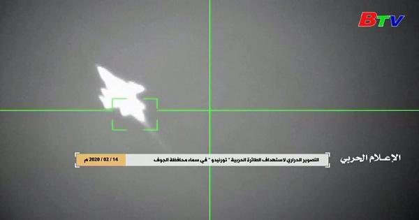 Yemen - Rơi máy bay chiến đấu của Saudi Arabia