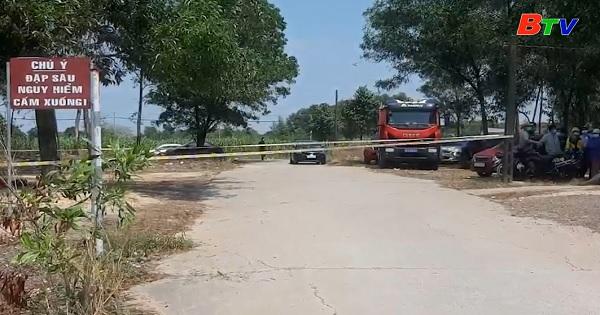 Tìm thấy nạn nhân đuối nước tại đập Phú Tân
