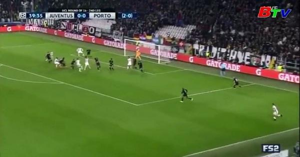 Lượt về vòng 1/8 UEFA Champions League-Juventus 1-0 Porto