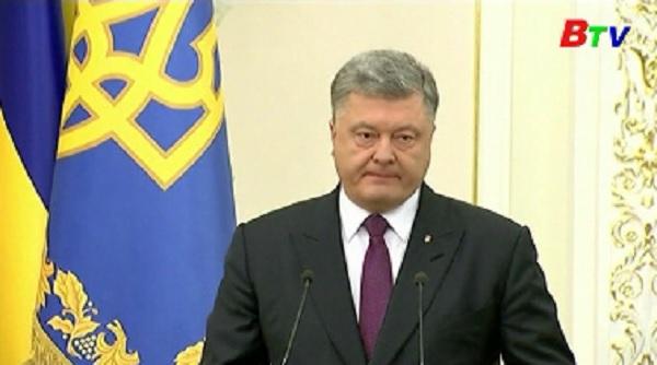 Ukraine phong tỏa giao thông tới miền Đông