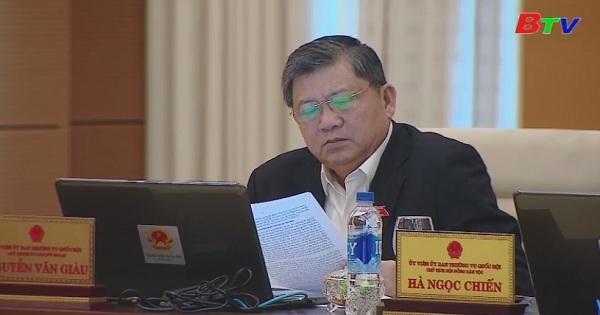 Thường vụ Quốc hội cho ý kiến về Dự án Luật Đơn vị hành chính - Kinh tế đặc biệt