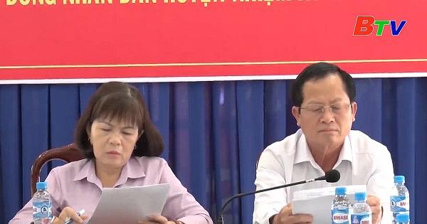 Bàu Bàng tổ chức hội nghị hiệp thương lần thứ 3