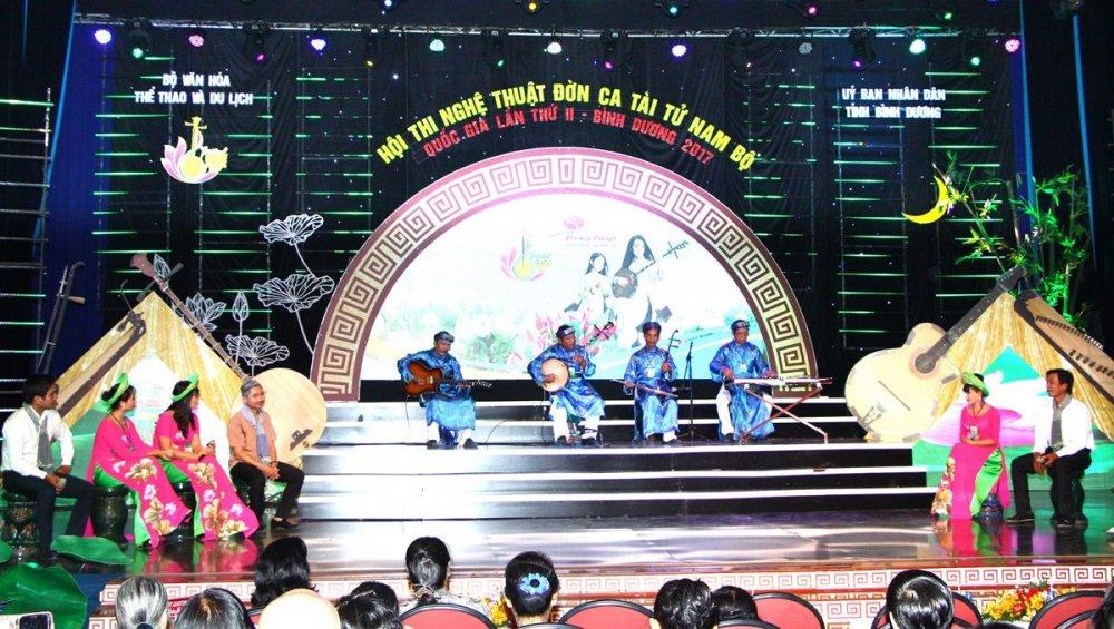 Festival Đờn ca tài tử Quốc gia lần II - Bình Dương 2017: Đoàn nghệ thuật tỉnh Đồng Tháp