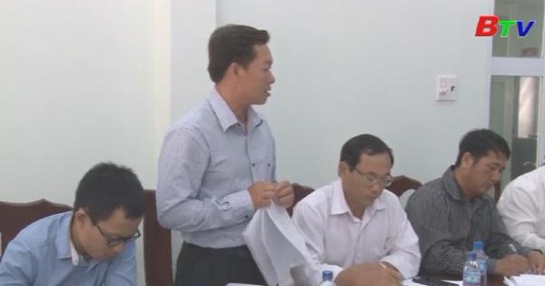 HĐND tỉnh giám sát công tác quản lý nhà nước về đất đai tại rừng phòng hộ Núi Cậu Dầu Tiếng