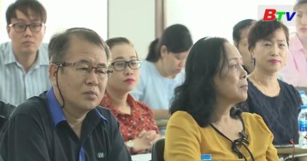 Cục thuế Bình Dương đối thoại doanh nghiệp Hàn Quốc