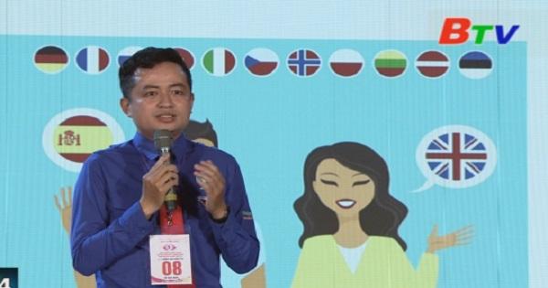 Thí sinh Lê Tuấn Anh - Đơn vị Đảng ủy Khối cơ quan doanh nghiệp tỉnh