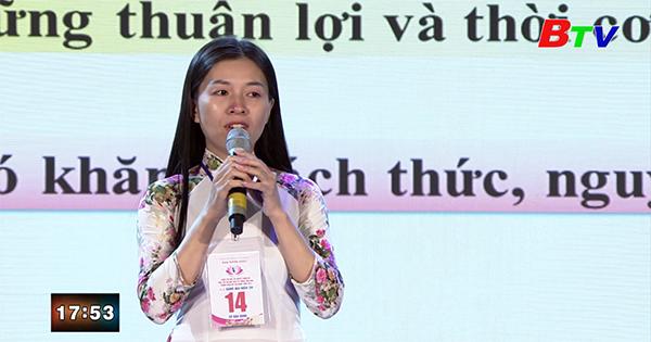 Thí sinh Nguyễn Thị Khả Tú - Đơn vị Huyện Bàu Bàng