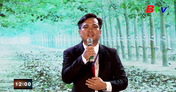 Thí sinh Trương Quốc Dự - Đơn vị Đảng ủy Công ty TNHH MTV Cao su Dầu Tiếng