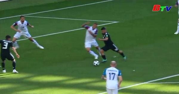 Vòng chung kết World Cup 2018: Bảng D - Argentina 1-1 Aceland