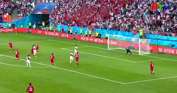 Bảng C: Peru 0-1 Đan Mạch