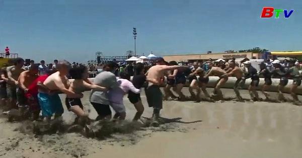Giải tỏa căng thẳng với lễ hội bùn tại Hàn Quốc
