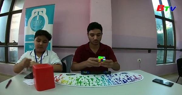Giải vô địch xoay Rubik tại thành phố Ramallah - Palestine