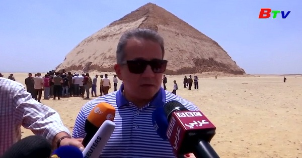 Ai Cập mở cửa Kim tự tháp cổ cho khách tham quan