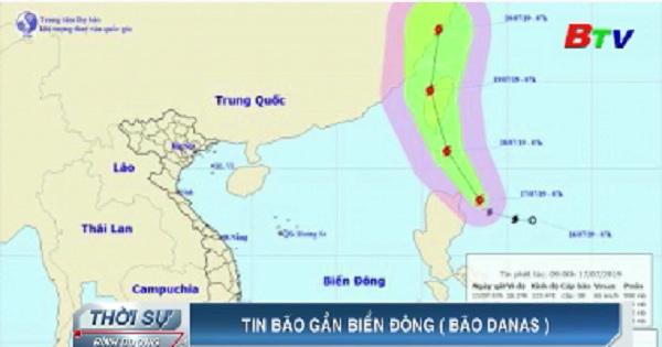Tin bão gần bờ biển Đông