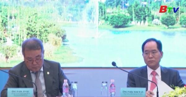 UBND tỉnh Bình Dương đối thoại doanh nghiệp Hàn Quốc