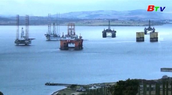 Giá dầu tăng lên mức cao nhất trong vòng 6 tháng