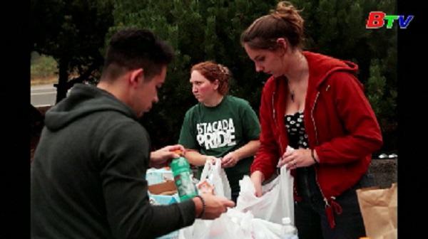 Mỹ ban bố tình trạng thảm họa tại bang Oregon
