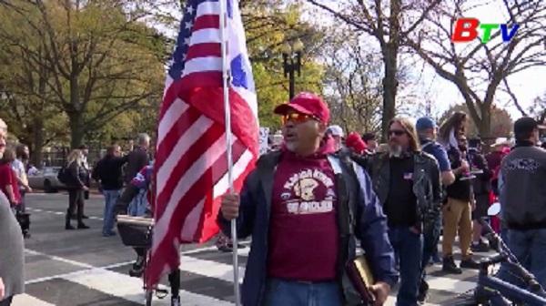 Mỹ - Nhiều cuộc biểu tình ủng hộ Tổng thống Trump