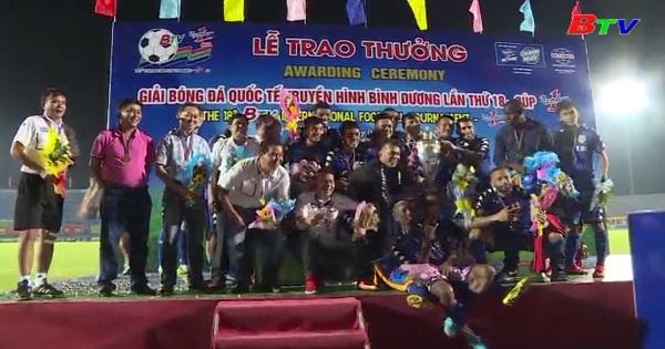 CLB Becamex Bình Dương trước thềm Giải Bóng đá Quốc tế THBD - Cúp Number 1 lần thứ XIX/2018