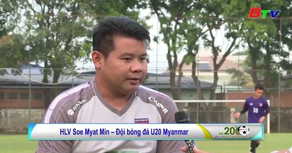 U.20 Myanmar - Sẵn sàng cho trận tranh huy chương Đồng