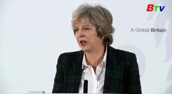 Thủ tướng Anh công bố chiến lược cho tiến trình Brexit