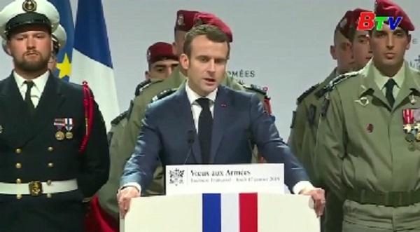 Pháp tiếp tục thực hiện nhiệm vụ chống IS