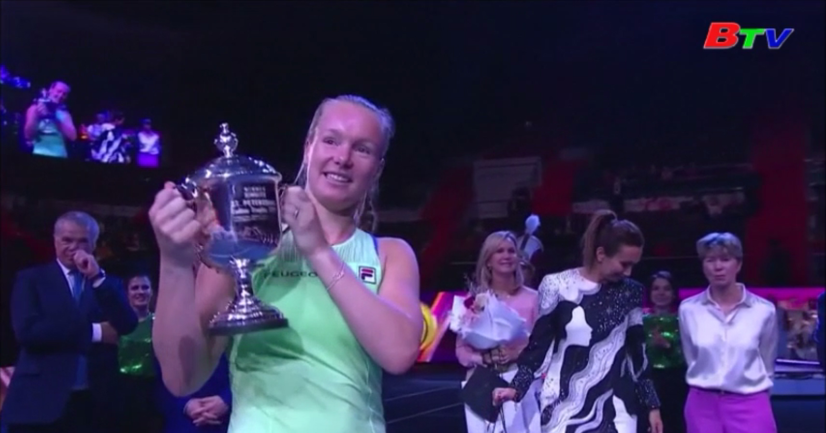 Kiki Bertens vô địch Giải quần vợt St Petersburg Ladies Trophy