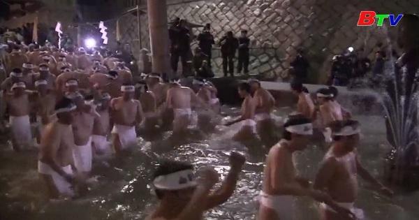 Tưng bừng lễ hội Hadaka Matsuri tại Nhật Bản