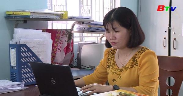 Một nữ cán bộ hết lòng vì công việc