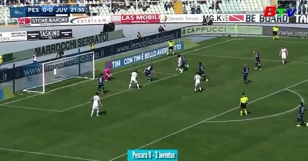 Vòng 32 Serie A-Pescara 0-2 Juventus