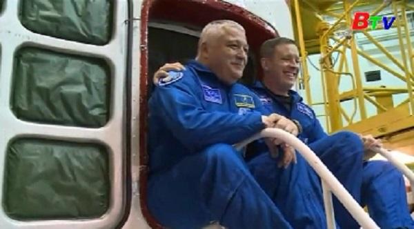 Các phi hành gia chuẩn bị cho chuyến bay thứ 51 lên ISS