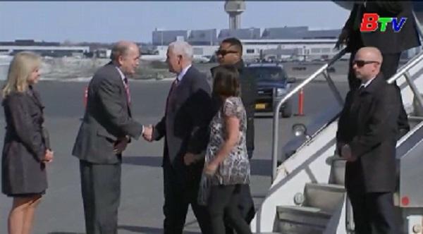 Phó tổng thống Mỹ thăm Hàn Quốc