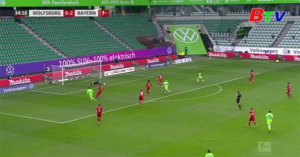 Vòng 29 Bundesliga – Wolfsburg 2-3 Bayern Munich