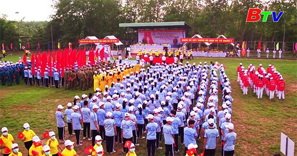 Thị trấn Tân Bình, huyện Bắc Tân Uyên khai mạc Đại hội Thể dục Thể thao lần thứ V năm 2021
