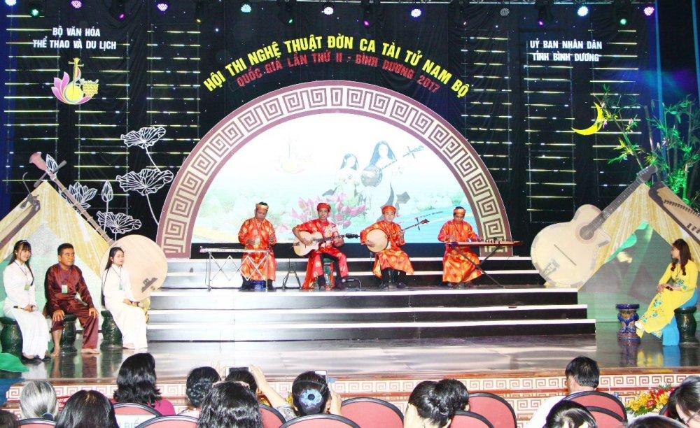 Festival Đờn ca tài tử Quốc gia lần II - Bình Dương 2017: Đoàn nghệ thuật tỉnh Hậu Giang