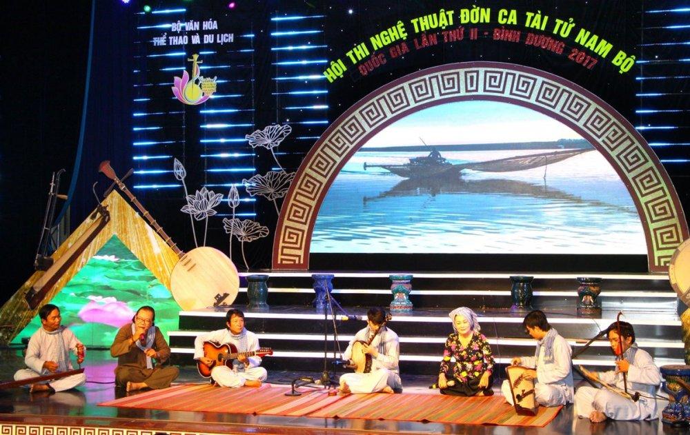 Festival Đờn ca tài tử Quốc gia lần II - Bình Dương 2017: Đoàn nghệ thuật tỉnh Kiên Giang