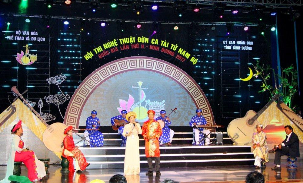 Festival Đờn ca tài tử Quốc gia lần II - Bình Dương 2017: Đoàn nghệ thuật tỉnh Ninh Thuận