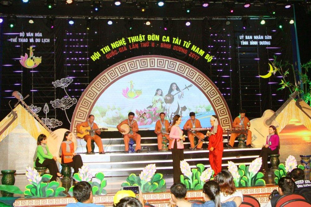 Festival Đờn ca tài tử Quốc gia lần II - Bình Dương 2017: Đoàn nghệ thuật tỉnh Sóc Trăng