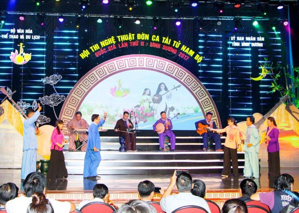 Festival Đờn ca tài tử Quốc gia lần II - Bình Dương 2017: Đoàn nghệ thuật tỉnh Tiền Giang