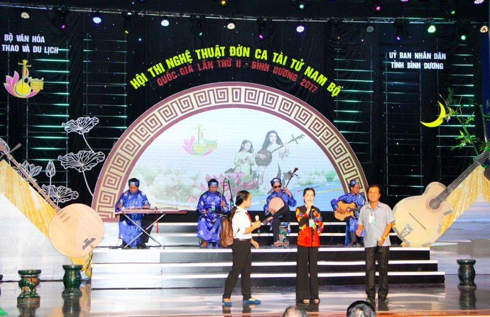 Festival Đờn ca tài tử Quốc gia lần II - Bình Dương 2017: Đoàn nghệ thuật tỉnh Trà Vinh