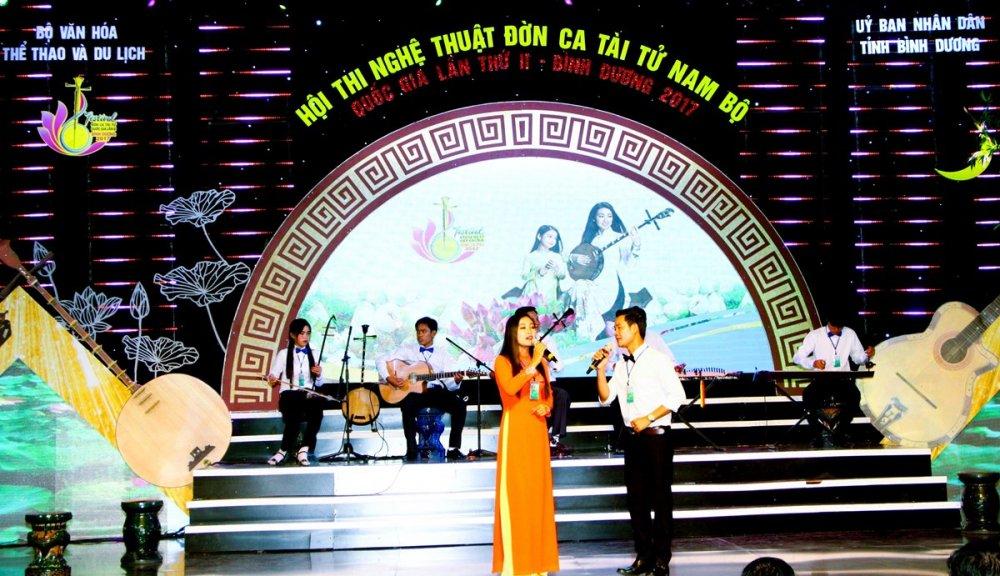Festival Đờn ca tài tử Quốc gia lần II - Bình Dương 2017: Đoàn nghệ thuật tỉnh Vĩnh Long