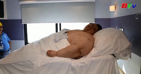 Người đàn ông nặng nhất thế giới sắp được xuất viện