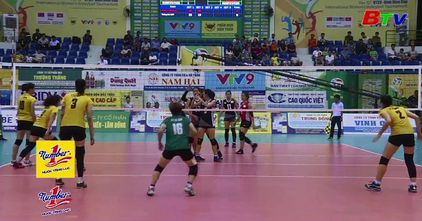 Kết quả lượt trận cuối Bảng A Giải Bóng chuyền nữ Quốc tế  VTV9 - Bình Điền 2018