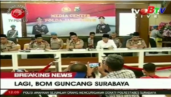 Indonesia tăng cường các biện pháp an ninh để đối phó khủng bố