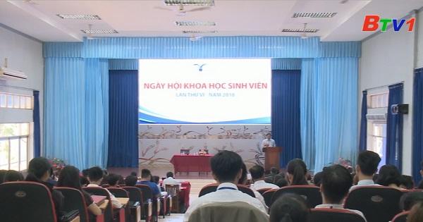 Đại học Thủ Dầu Một tổng kết Hội thi Sinh Viên Nghiên cứu Khoa học lần VI