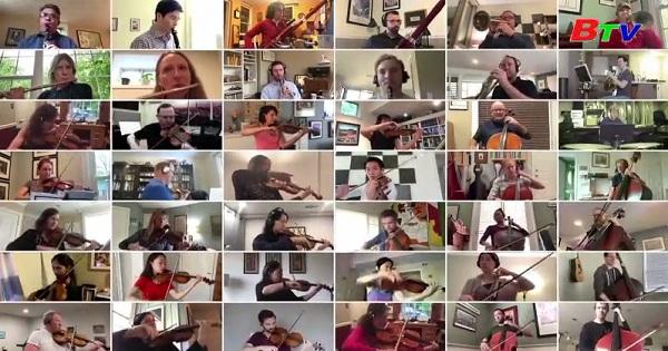 Nhà hát giao hưởng quốc gia Mỹ biểu diễn trực tuyến