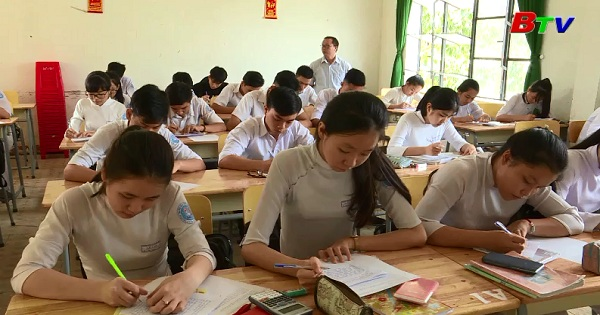 Chuẩn bị tốt cho kì thi THPT Quốc gia