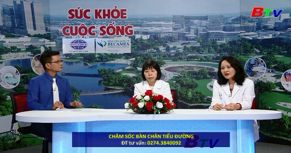 Chăm sóc bàn chân tiểu đường (PL TTSKCS ngày 16/06/2018)