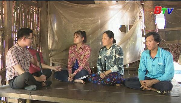 Thắp sáng ước mơ Xanh - Hoàn cảnh em Hồ Lê Ngọc Bích (Lớp 12A4 trường THPT Đoàn Kết, huyện Tân Phú, Đồng Nai)